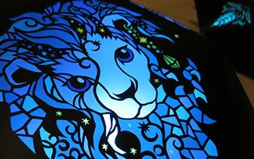 『nanaのふしぎ十二星座』- zodiac sign Paper art(12作品)