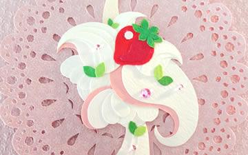 ケーキの鳥たち Sweets Birds(5作品)